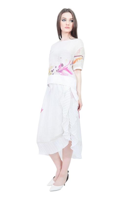 asymmetrical designer skirt